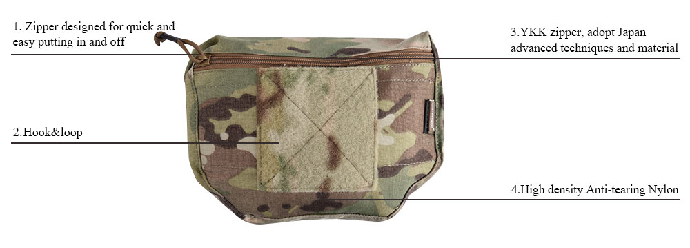Armor Carrier Drop Pouch