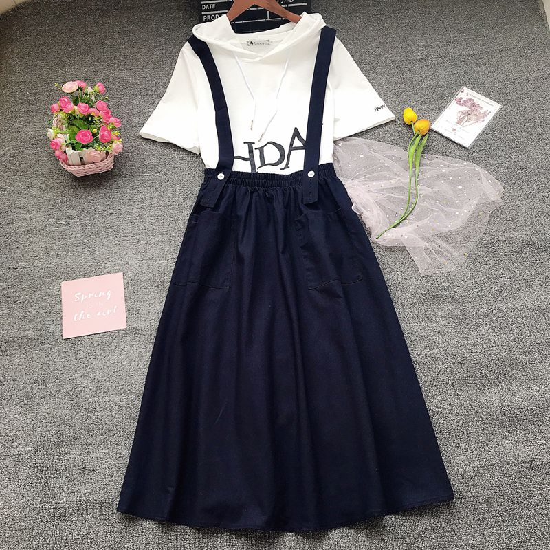 Beancan New Baby Outfit 2019 Children Kids Baby Girl Ruffle Tops Blouse Suspender Skirt Dress Outfits Clothes 1-6Y