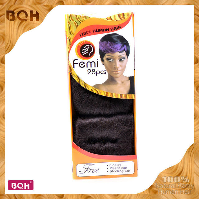 Hot Selling 28 Pcs Hair Style Femi Hair Collection One Pack Hair