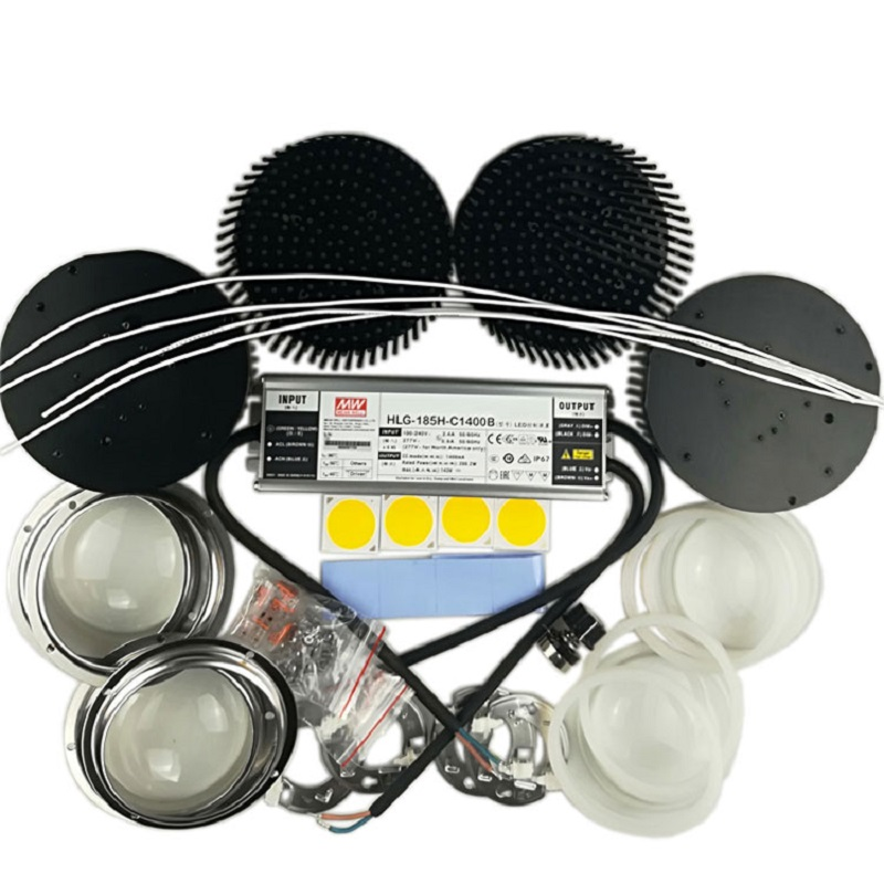 200w CREE Cob CXB3590 led grow lights Kit 3000K 3500K 6500K with Meanwell dimmable Led Driver