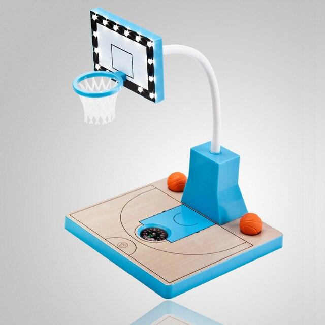 Usb гаджет Новинка Настольная лампа для подарок гибкие мини-офис гаджеты 14 светодиодов USB Light Баскетбол суд настольная лампа
