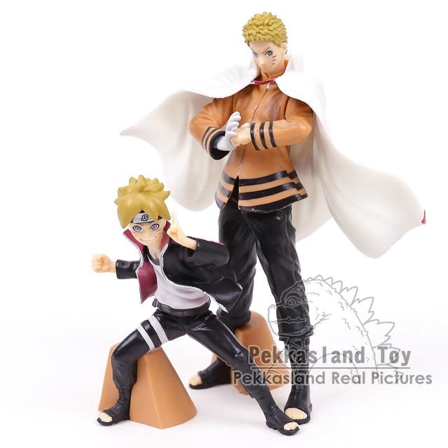 2pcs/set Naruto & Boruto PVC Figures Toys