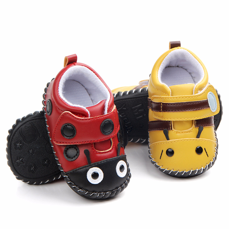 Spring Sports Baby Shoes First Walkers Newborn PU Cartoon Cute Sports Casual Baby Boy Shoes Fashion Baby Girls Shoes