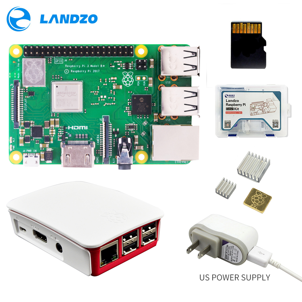 Raspberry Pi 3 Model B Plus kit Raspberry Pi 3 plug 5V 2 5A US Power