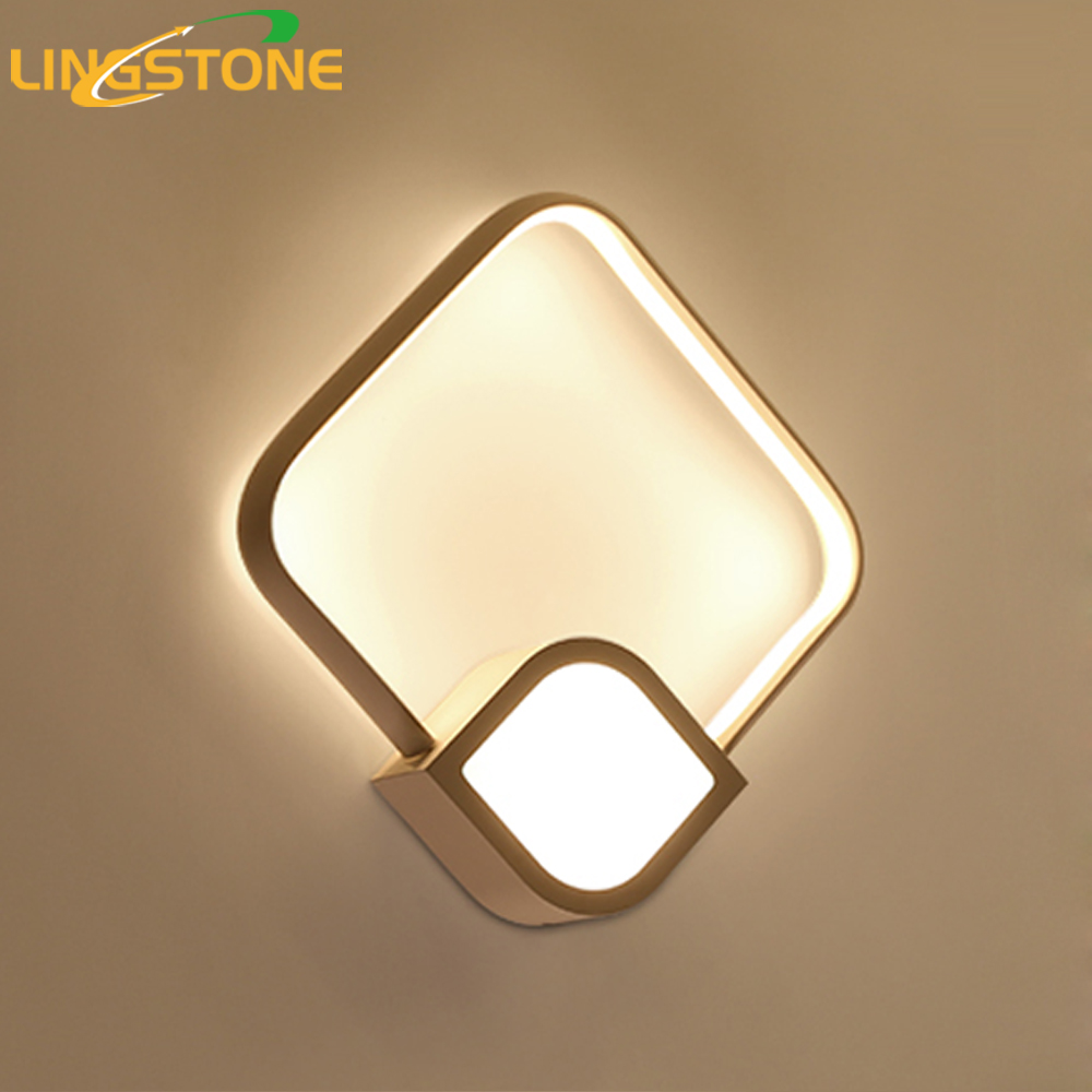 Wall Lamp Led Mirror Wall Light Modern Decor Wandlamp Bathroom Home Lighting Fixture Bedroom Stairs Restaurant Living Room Bar modern wall lamp glass ball led wall sconces bedside wall light fixture bedroom luminaria home lighting vintage lamp