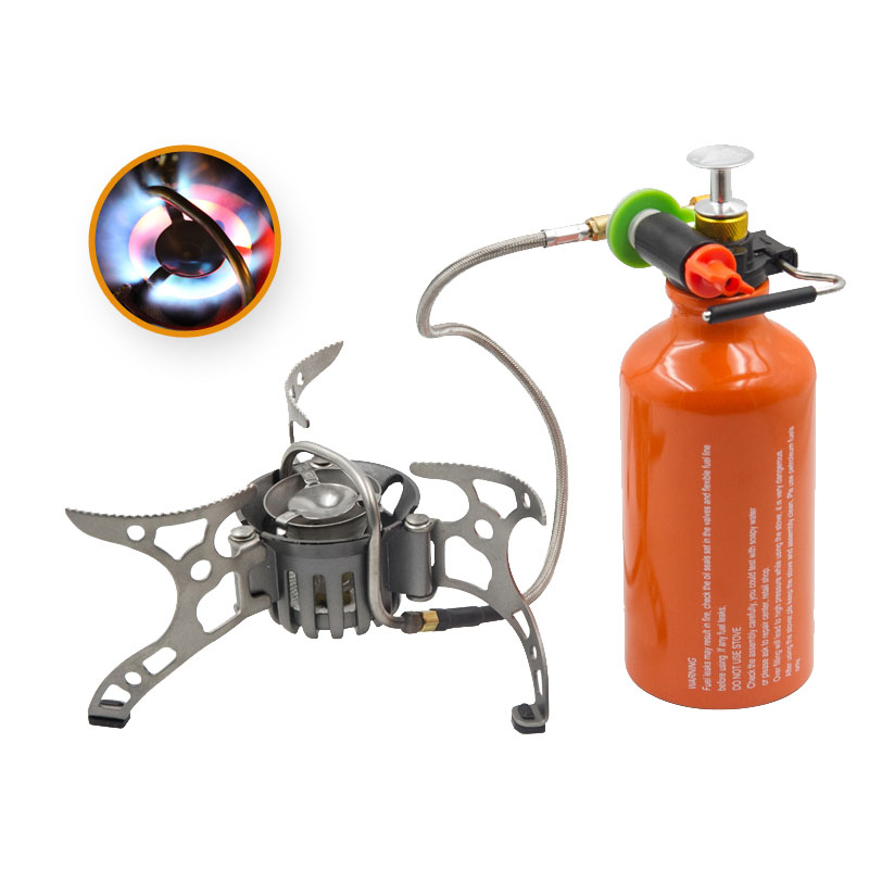 APG Outdoor Oil&gas Stove Split Burners Camping Equipment Multi Fuel Survival Stove apg 1100ml camping gas stove fires cooking system and portable gas burners