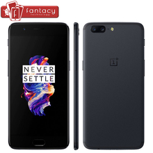 "A5000 Oneplus 5 8GB 128GB Snapdragon 835 Octa Core Smartphone LTE 4G 5.5"" Dual 20.0MP 16.0MP Fingerprint ID Android 7.0 OS (China)"
