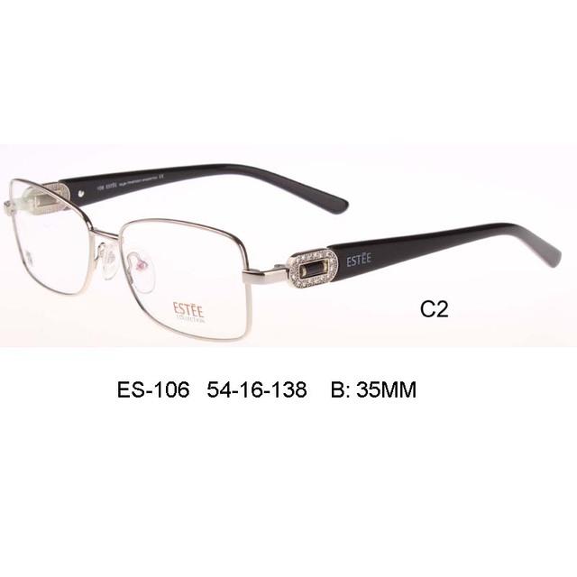 Diseño de marca vidrios lisos hombres mujeres miopía marco de las lentes gafas lunette de soleil hisper vidrios ópticos gafas de grau