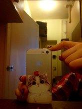 Cat Soft Silicon Transparent iPhone Case