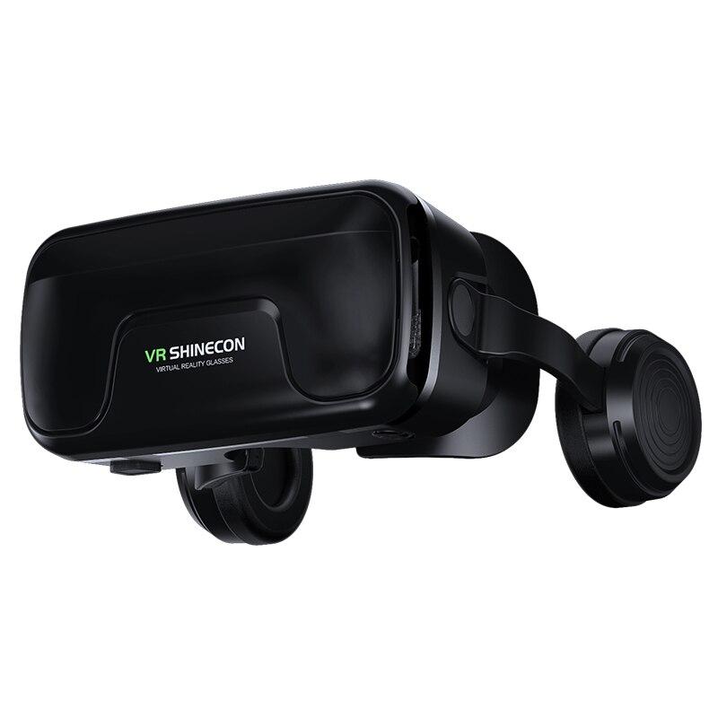Virtual Reality 3D helmet glasses  4