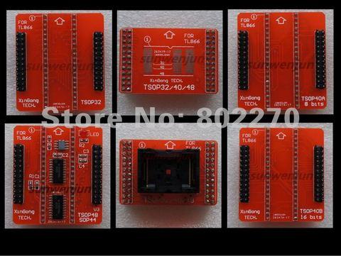 tsop 32 40 48 20mm adaptador conjunto completo fortl866ii tl866cs tl866a tl866 ii plus programador