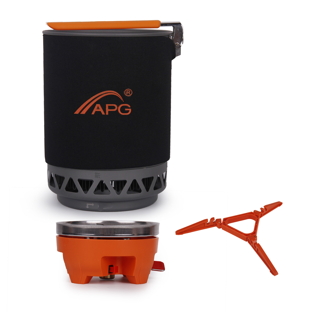 1800ML Portable Gas Burners Large Capacity Gas Stove Furnace Fires Heat Cooking System font b Camping