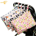 30*40 CM New Two Zippers Pocket Fashion Wet Dry Bag Washable Baby Nappy Diaper Bag Reusable Lovely Patterns Swimmer Bikini Bag