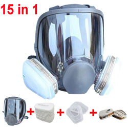 Large Size Full Face 6800 Gas Mask Facepiece Respirator Painting Spraying for painting chemical Laboratory medical Safety mask