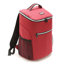 20L Outdoor Insulated Bag Cooler Luch Tote Thermal Bento Bag Outdoor Camping BBQ Picnic Food Freshness Cooler Grocery Shoulder jeebel 18l double deck outdoor picnic basket bag storage thermal bag handbags shoulders camping cooler tote thermo