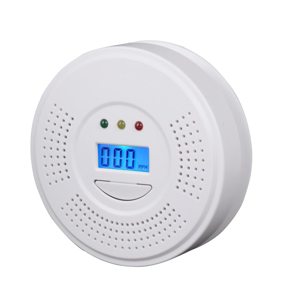 2PCS High Quality RH-105 CO Carbon Monoxide Poisoning Gas Sensor Warning Alarm LCD Detector Tester