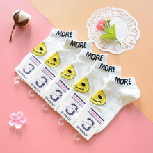 Fashion 5pairs/lot spring summer cotton invisible socks women female Spandex ankle white sox hot sale