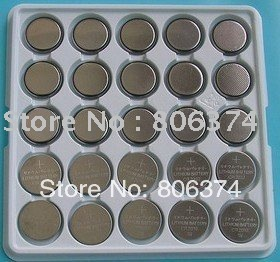 Free shipping&Wholesale - 400 pcs 3V Lithium CR2032 CR 2032 Cell Button Coin Battery