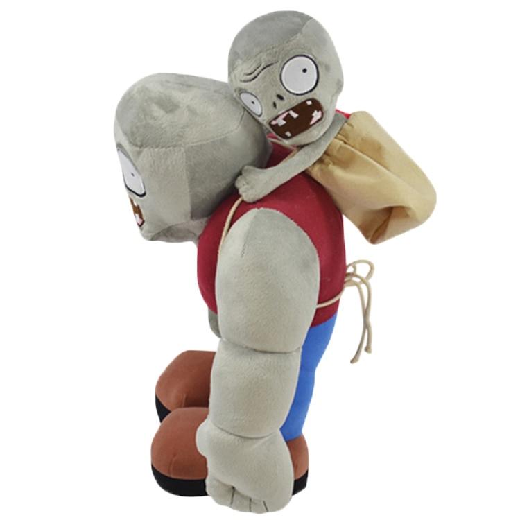 US $13 83 11% OFF|30cm Cartoon Plants VS Zombies Gargantuar Zombie Plush  Toys PVZ Gargantuar Plush Soft Stuffed Toys Doll Gifts for Kids Children-in