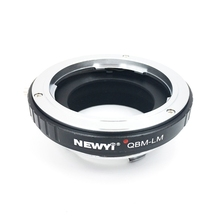 NEWYI Adapter For Rollei Lens To Leica M240 M9 With Techart camera Converter Ring