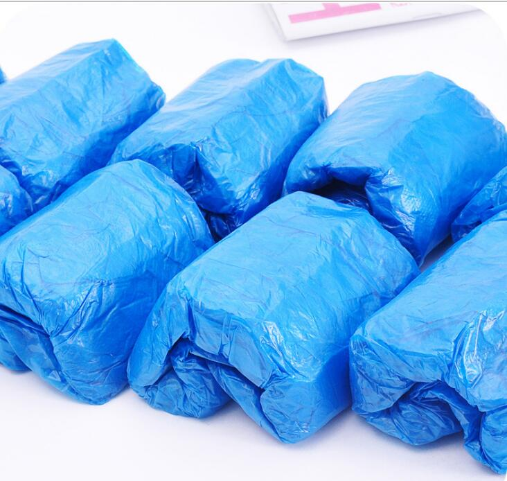 100 Pcs Wholesale Hotel Disposable Shoe Covers Carpet Cleaning Overshoe Guests Family