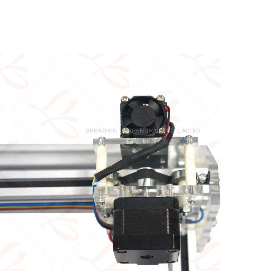 1 шт. 1,5 Вт DIY мини лазерная гравировальная машина 1500 МВт Настольный DIY Лазерный гравер гравировальный станок изображение CNC принтер - 6