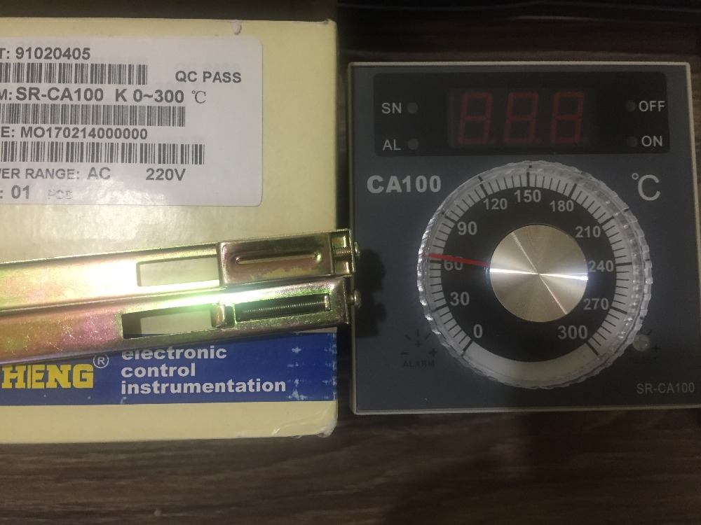 Genuine oven temperature controller TAISHENG CA100 EAF thermostat SR-CA100 taiwan xuan rong caho thermostat sr t908 original genuine sr t908 oven thermostat