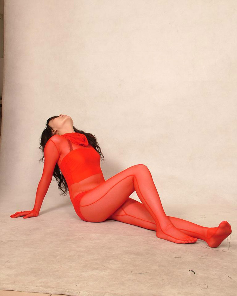 61e24f9dee1 US $19.99 |Sexy Lycra Spandex Silk Red Full Body Zentai Suit Cosplay  Bodysuit COS Costume Fancy Dress-in Zentai from Novelty & Special Use on ...