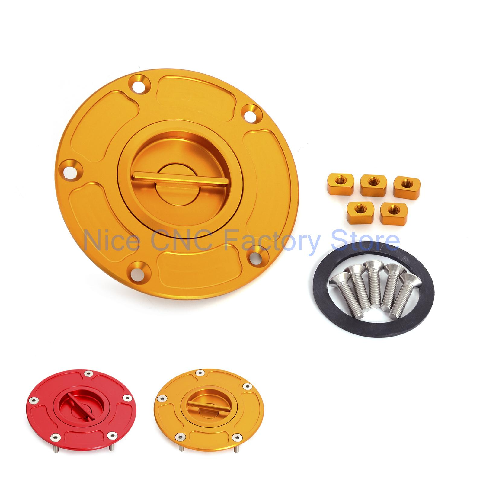 ФОТО Billet CNC Keyless Fuel Gas Cap For DUCATI 899/959/1199/1199S/1199R