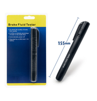 100 Good Quality Brake Fluid Tester 5 LED Car Vehicle Auto Automotive Testing Tool For DOT3