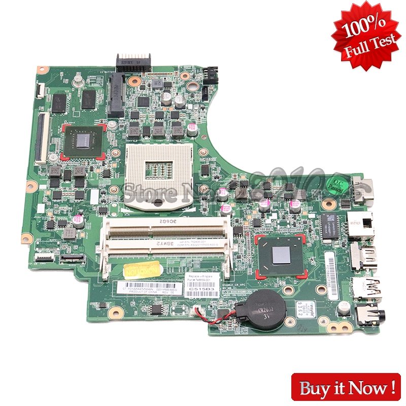 NOKOTION 748839 501 748839 001 For HP 15 D 250 G2 Laptop Motherboard HM76 DDR3 GT820M