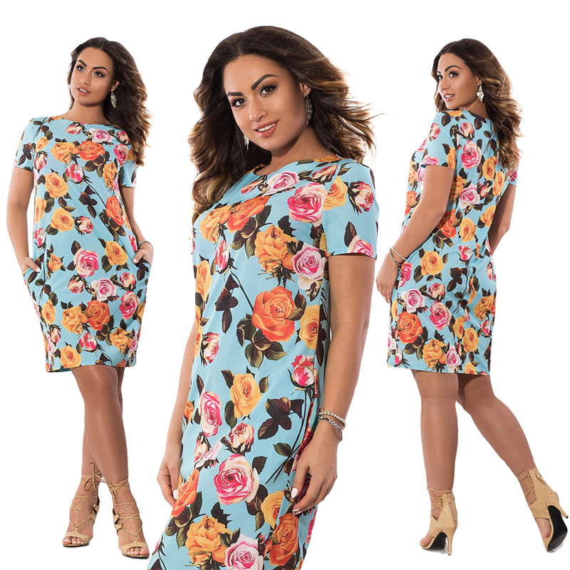 HTB1QY5MXnzGK1JjSspbq6zHpFXaq 2019 Autumn Plus Size Dress Europe Female Fashion Printing Large Sizes Pencil Midi Dress Women's Big Size Clothing 6XL Vestidos
