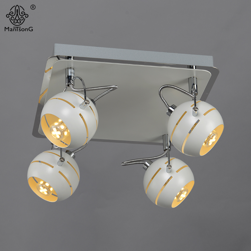 New iron led ceiling spotlight bedroom modern track light white warm new iron led ceiling spotlight bedroom modern track light white warm lighting minimalism style led spot lights home fixture in spotlights from lights aloadofball Images