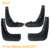 4 pçs/lote Car Styling ABS Paralama Proteção Contra Respingos Mud Flaps Mudflap Fenders Atenza2014-2017 Perfector Decoração Externa Para Mazda