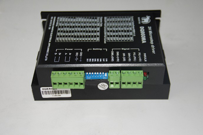 1PC Wantai Stepper Motor Driver DQ860MA 7.8A 80V 7.8A 256Micro CNC Router Mill Cut Laser Foam Engraving Grind