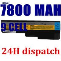 HSW 9cells new Laptop Battery for IBM 3000 G455 N500 G550 IdeaPad G430 V460 Z360 B460 V460D L08S6Y02 L08S6D02 L08S6C02 bateria