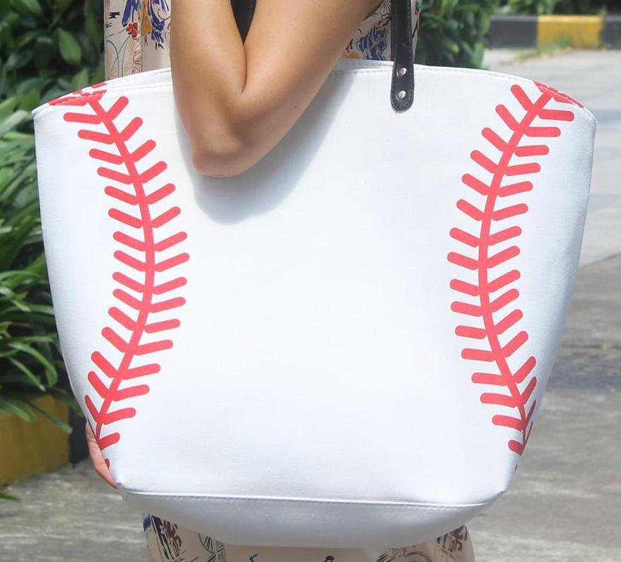 Adaptable Sample 10pcs Jewelry Packaging Blanks Kids Cotton Canvas Sports Bags Baseball Softball Tote Bag Yellow Softball White Baseball
