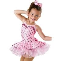 2019 New Child Professional Ballet Tutu Pink Girls Ballerina Dress Disfraces Infantiles Princesa Vestido Ballet DQ9018