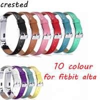 Cinturino In vera Pelle Per Fitbit Alta/Alta HR orologio cinturino di Vigilanza della fascia di Alta qualità Cinturino di Ricambio