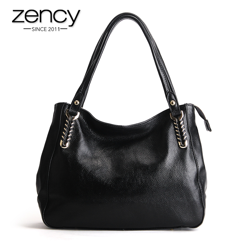 2017 Spring New Genuine Leather Quality Women Handbag Ladies Shoulder Tote Hobo