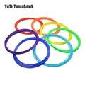10 pçs/set Caneta Fluorescência Filamento Impressora 3D ABS 1.75mm de Plástico de Borracha de Materiais Consumíveis caneta 3d filamento
