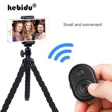 Bluetooth пульт дистанционного управления Кнопка беспроводного управления Лер Автоспуск камера палка спуска затвора телефон монопод селфи для iOS Android