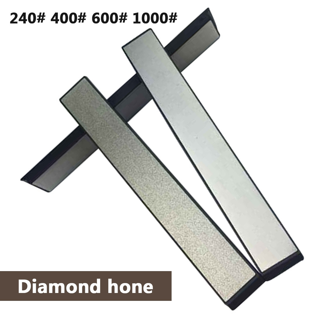 240 400 600 1000 Grit Diamond Knife Sharpener Angle Sharpening Stone Whetstone Professional Knife Sharpener Tool