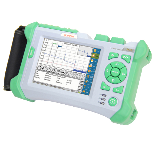 Image 3 - KOMSHINE QX50 S OTDR optical domain reflectometer Equal to EXFO MAX 710B,MAX 715B,JDSU MTS 2000 Fiber Optic OTDR-in Fiber Optic Equipments from Cellphones & Telecommunications