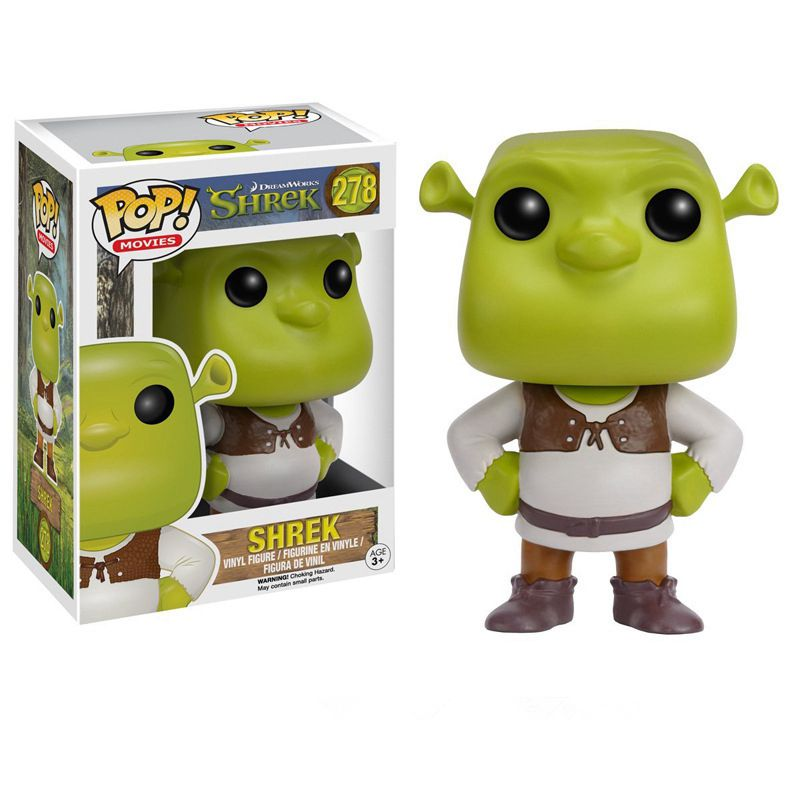 Funko pop Official Monster Shrek Cartoon Vinyl Figure Collectible Collectible Model Toy with Original boxFunko pop Official Monster Shrek Cartoon Vinyl Figure Collectible Collectible Model Toy with Original box