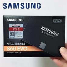 SAMSUNG компьютер ноутбук Настольный Ноутбук сервер 2,5 860 EVO 860EVO 500GB 500G 2,5 SATA3 SSD Внутренний твердотельный Накопитель SSD