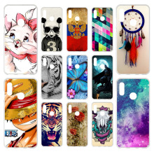 Honor 8A Case For Huawei Silicone Soft TPU Cute Back Cover Phone On JAT-LX1 8 A Honor8A