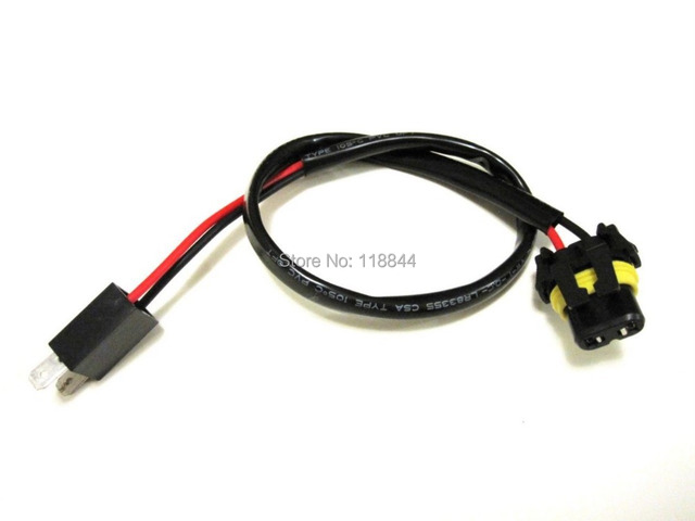 2pcs 35w 55w xenon h7 wire harness cable for hid ballast to stock  at Hid Ballast To Stock Wiring Harness H7