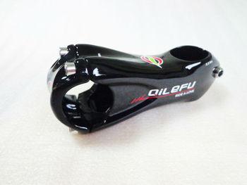 Новый QILEFU горный велосипед UD 3K полностью углеродный велосипедный стержень 6/17 угол дорожный углеродный Стержень 31,8*80/90/100/110/120 мм MTB части Бес...