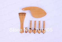 New High quality 2 set Boxwood violin 4/4 parts ,Ebony inlay